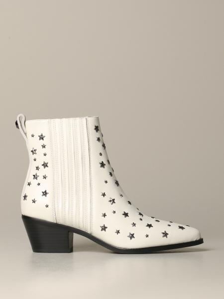 Stivaletto Liu Jo in pelle con stelle all over