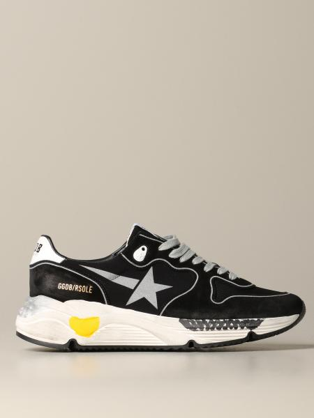Golden Goose Sneakers aus Wildleder und Micro Mesh