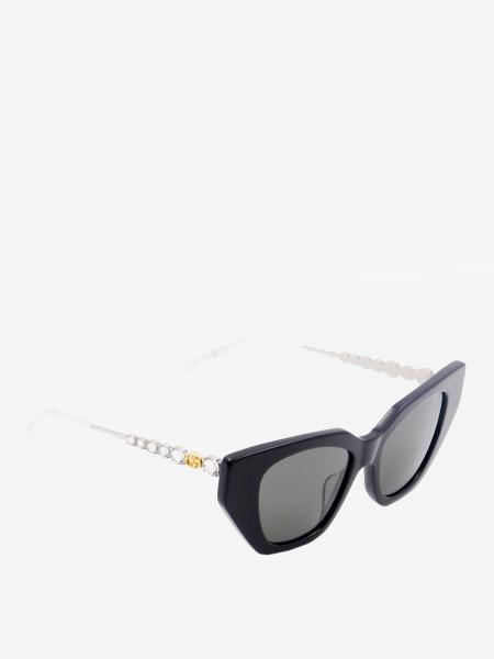 Gucci Acetat und Metall Gläser