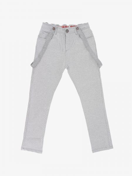 Pantalone Manuel Ritz con bretelle