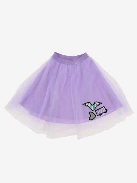 Gonna Liu Jo in tulle con patch