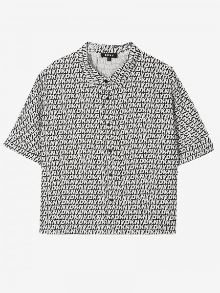 Dkny shirt with all over logo