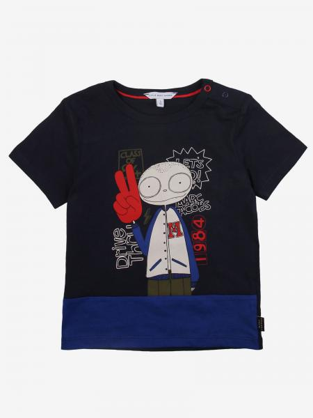 T-shirt Little Marc Jacobs stampata