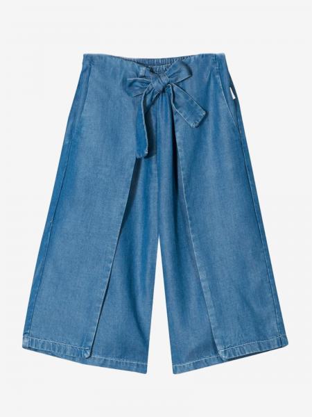 Pantalone Chloé ampio con fiocco