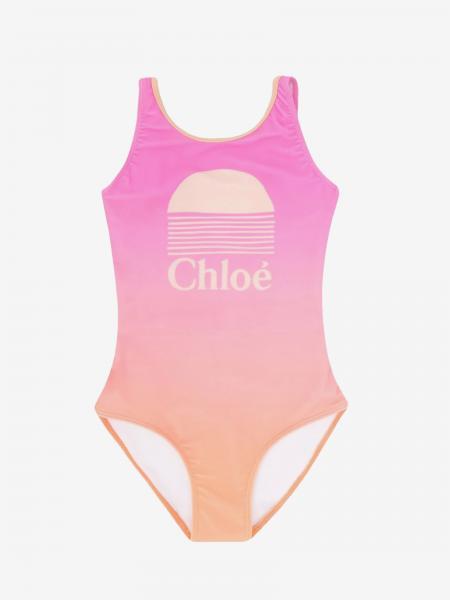 Costume Chloé intero con logo
