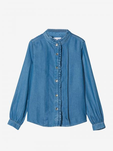 Chloé shirt with rouches collar