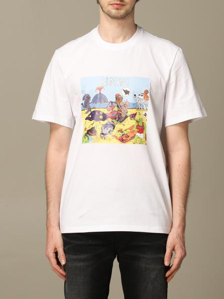 Msgm t-shirt with front print