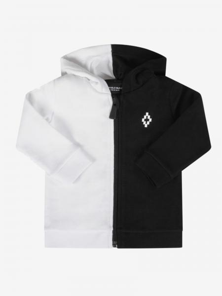 Marcelo Burlon bicolor sweatshirt with hood