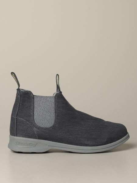 Stivaletto Blundstone in canvas effetto denim