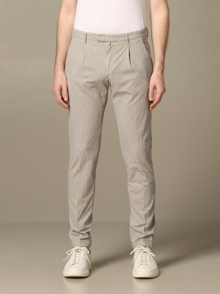 Pantalone Briglia a micro fantasia