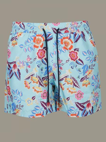Printed Etro boxer swimsuit