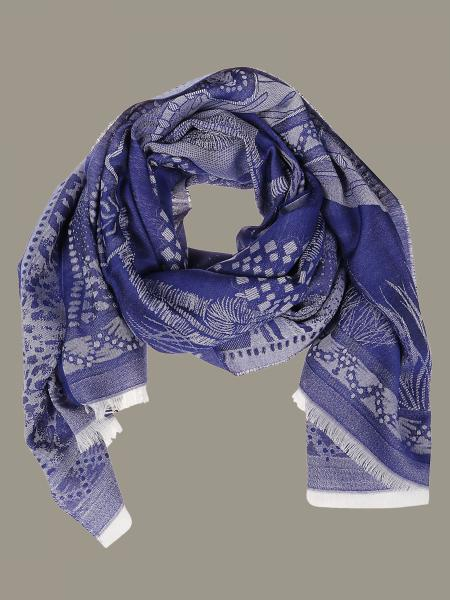 Etro scarf with embroidery