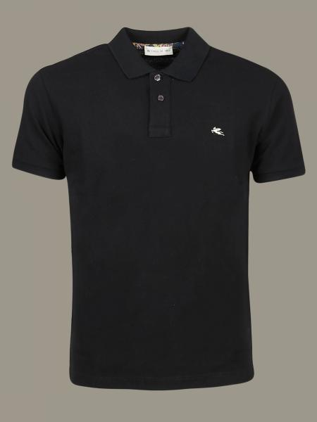 Etro short-sleeved polo shirt