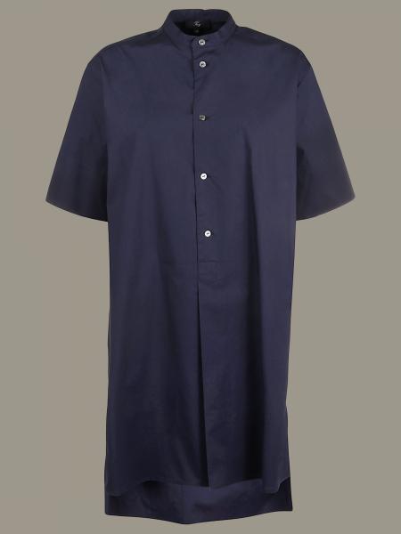 Fay dress with mandarin collar