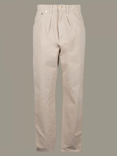 Pantalone Alberta Ferretti ampio a 5 tasche