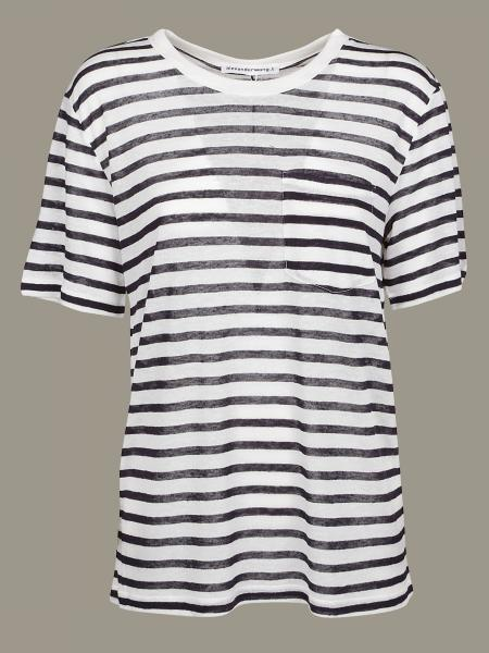 T-shirt Alexander Wang a righe