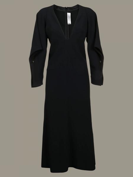 Victoria Victoria Beckham long-sleeved dress