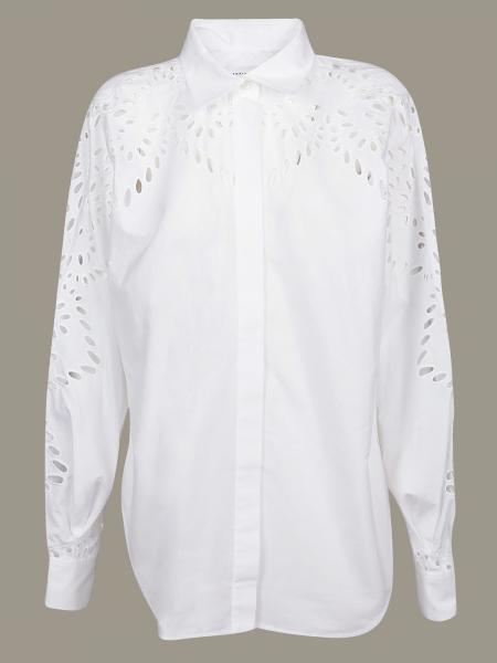 Victoria Victoria Beckham shirt with carved decoration