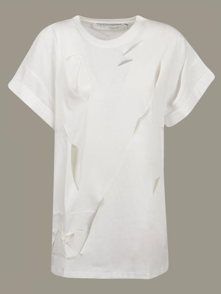 T-shirt Iro con tagli all over