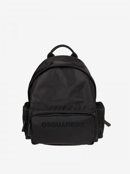 Dsquared2 nylon backpack with logo