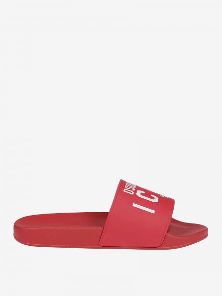 Dsquared2 band sandal with logo