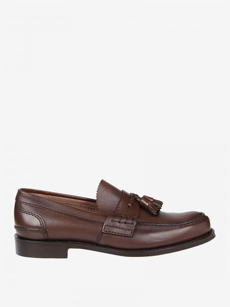 Church's moccasin in smooth leather with tassels