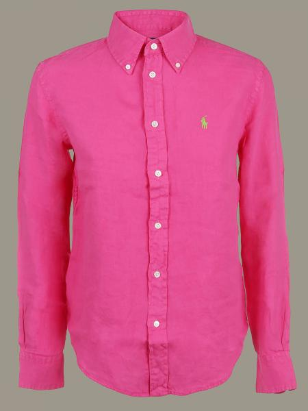 Camicia Polo Ralph Lauren con collo button down