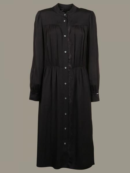 Robe longue Calvin Klein à manches longues