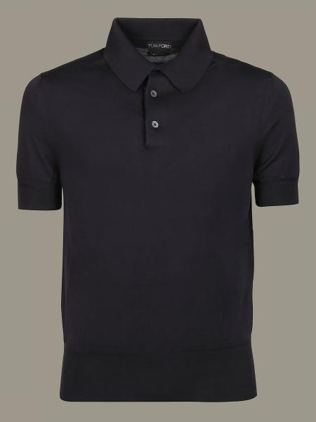 Polo Tom Ford a maniche corte