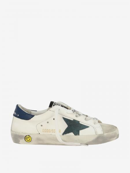 Golden Goose leather sneakers with suede star