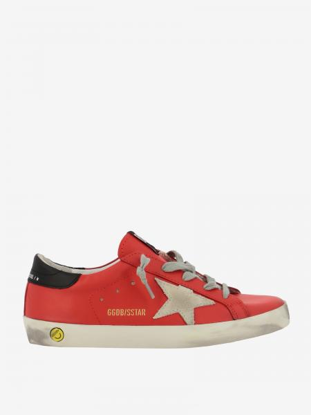 Golden Goose leather sneakers with contrasting star