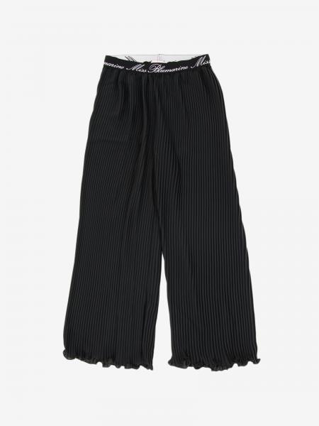 Pantalone Miss Blumarine ampio e plissettato