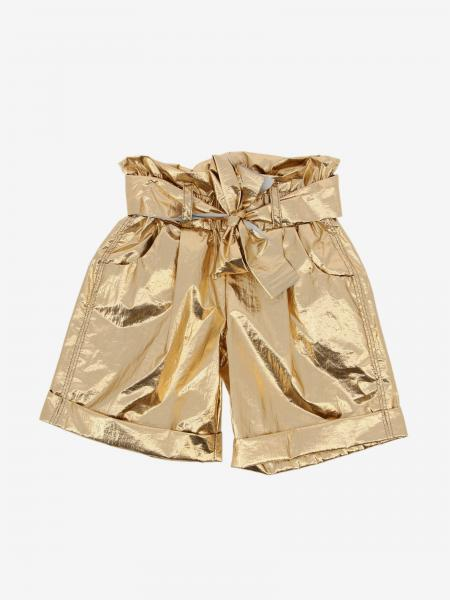 Pamilla 高腰金属感短裤