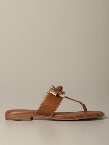 Sandalo Michael Michael Kors in pelle con fiocco