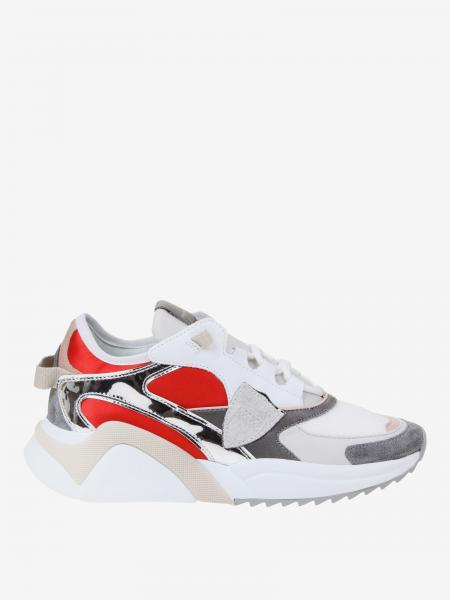Philippe Model Sneakers aus Wildleder und Mesh