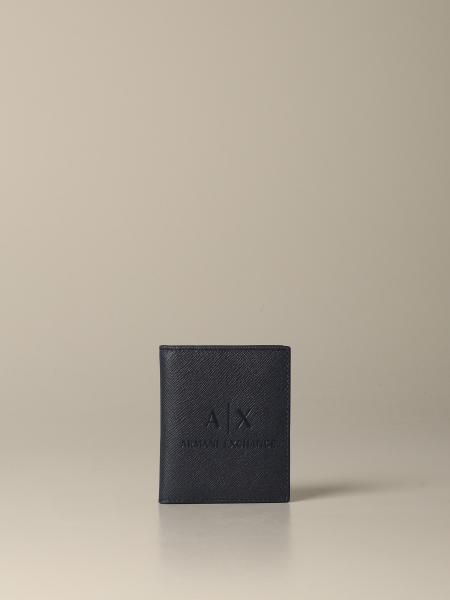 Portefeuille de livre vertical Armani Exchange