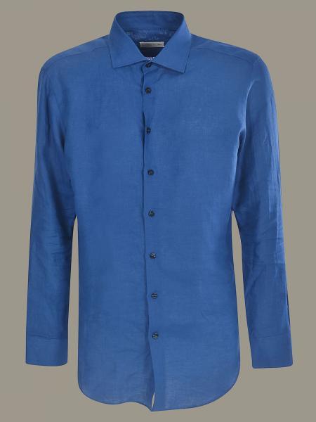 Camicia Etro in lino a maniche lunghe