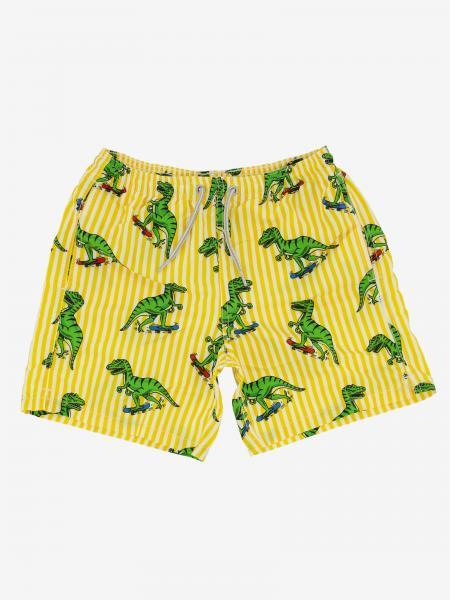 Mc2 Saint Barth 恐龙印花泳裤