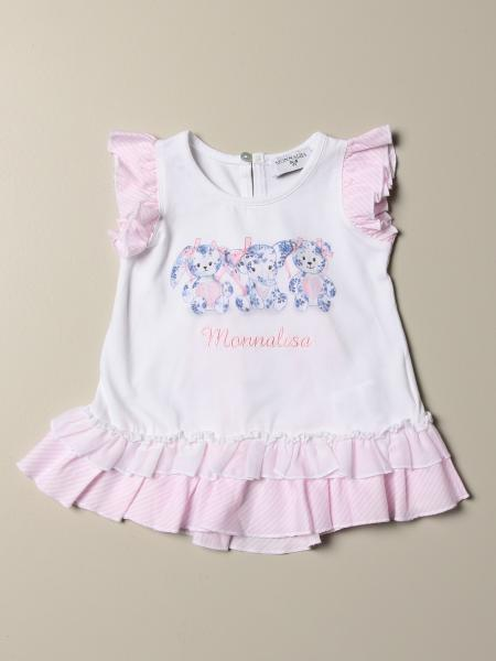 T-shirt Monnalisa Bebè con rouches