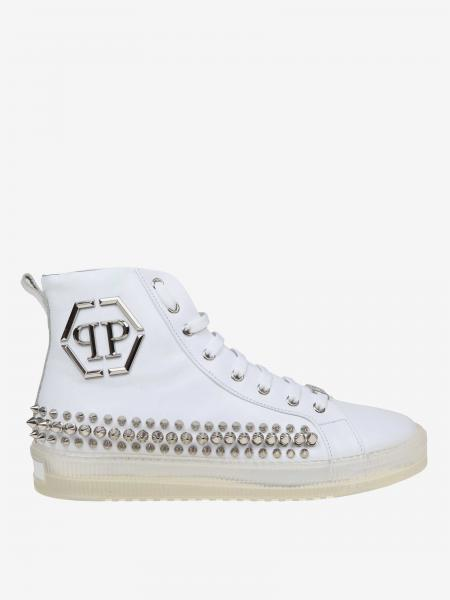 Philipp Plein sneakers in studded leather