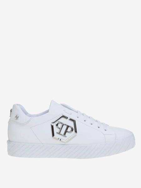 Sneakers Philipp Plein in pelle con monogramma PP