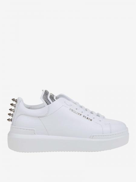 Philipp Plein sneakers in leather with metal studs