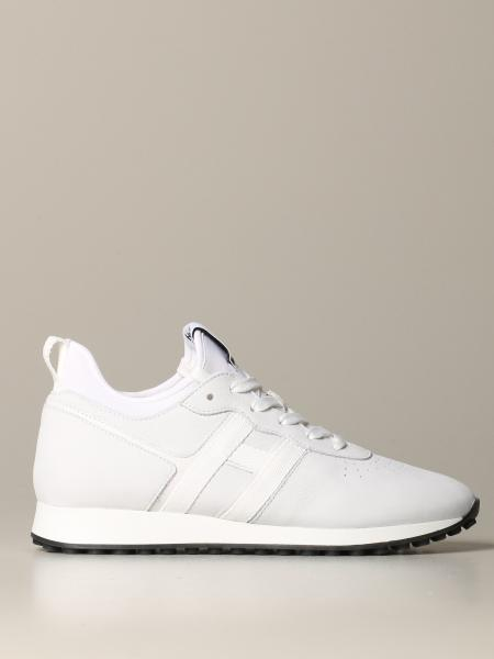 Hogan sneakers in leather and neoprene