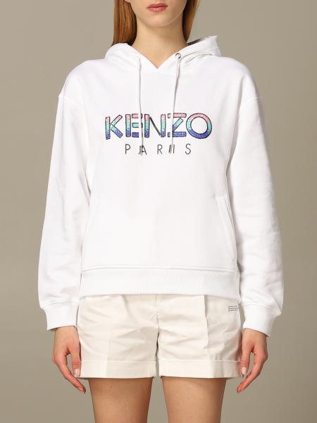 Kenzo logo 连帽卫衣