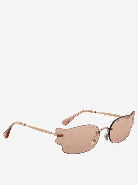 Jimmy Choo sunglasses with animalier finishes