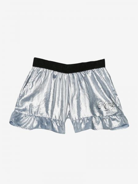 Kenzo Junior laminated shorts