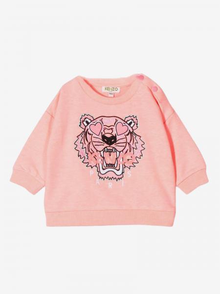 Kenzo Junior crewneck sweatshirt with Tiger Kenzo Paris logo