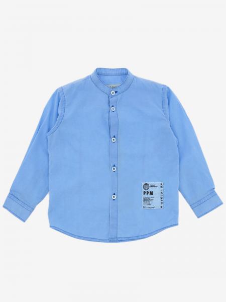 Camicia Paolo Pecora con collo alla coreana