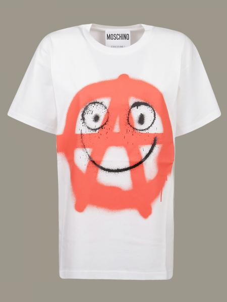 T-shirt Moschino Couture con stampa