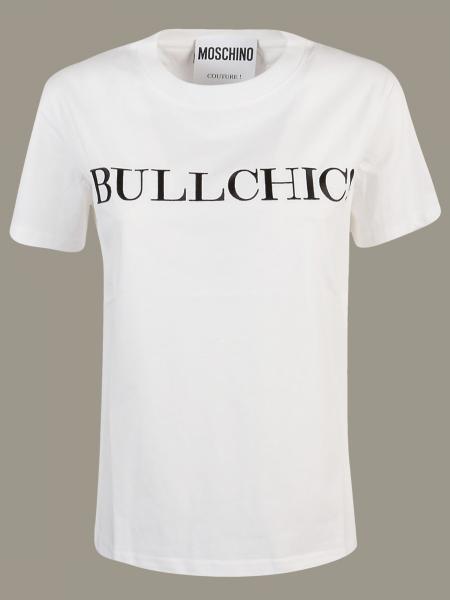 T-shirt Moschino Couture con scritta